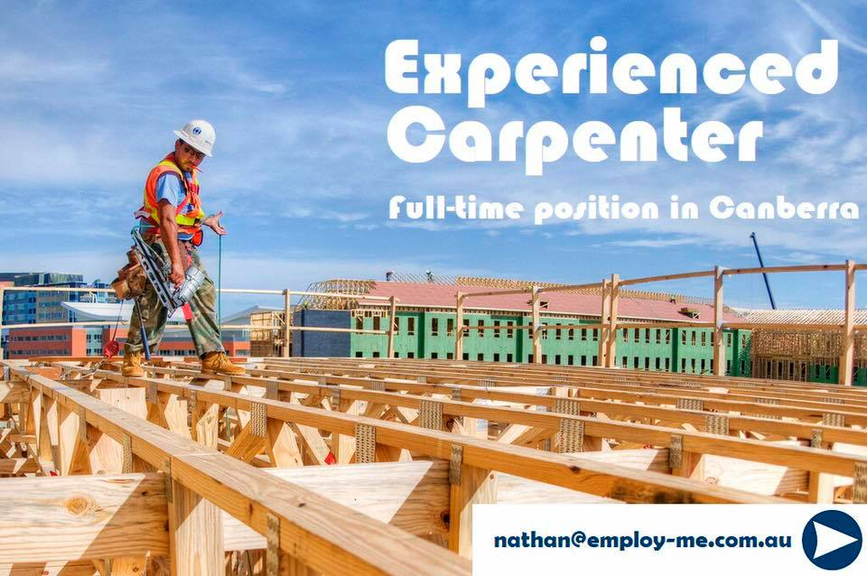 best carpenters canberra